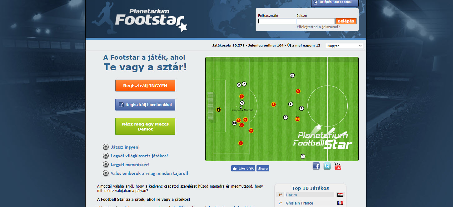 FootStar Manager